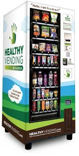 Eco Vending Machine Mesmerizing The Apprentice Premium HUMAN Healthy Vending Machine