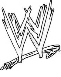 Small Picture Marvellous Design Wwe Printable Coloring Pages WWE Logo Page