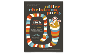 Microsoft Christmas Party Christmas Party Flyer Template Word Publisher