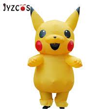 JYZCOS <b>Inflatable Pikachu Costume</b> Cosplay Purim adult <b>Pokemon</b> ...