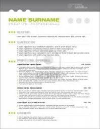 CV Sample Pinterest