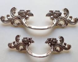 furniture hardware pulls. shabby chic bail dresser drawer pulls handles / antique silver drop kitchen cabinet pull handle knobs furniture hardware .