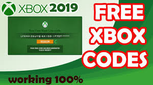 free xbox gift card codes not used