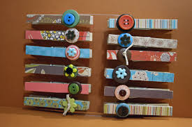 Decorated Clothespins