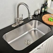 Exciting Modern Stainless Steel Sink Trinity Unit Kitchen Shaped