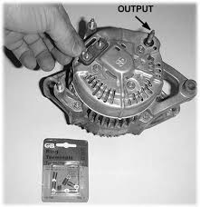 vintage chrysler electrical repairs and updates 12 to uprate and upgrade the familiar chrysler alternator we used this kit from j c whitney this one is for 72 up units and is rated 80 a