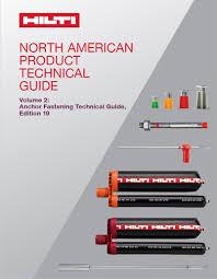 Hilti Anchor Bolt Design Manual Hilti Anchor Technical Guide Edition 19 Ask Hilti
