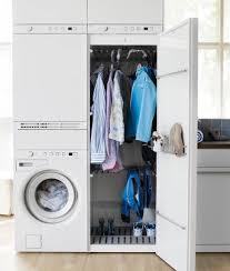 Meuble bas pour machine à laver ou sèche linge 60 cm optihwr uw654 7 acheter en ligne chez hornbach suisse. Une Buanderie Comme Un Meuble Dans Moins De 1 M