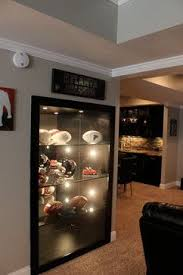Small Picture sports memorabilia basement Houzz Home Design Decorating and