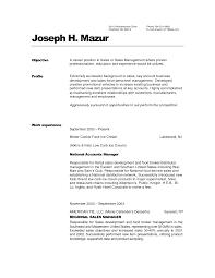 Resume Hospitality Manager Resume