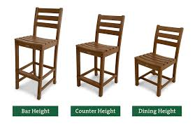 counter high chairs in get the height right vs bar stools for decorations 10