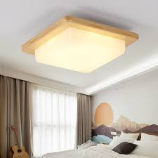 wood ceiling lighting. Japanese Warm White LED Wood Ceiling Lights Modern Acrylic Lampshade Tatami Bedroom Living Room Light Home Lamp Lighting CL225-in From A