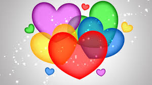 colorful heart wallpapers. Modren Wallpapers COLORFUL HEARTS WALLPAPER DOWNLOAD To Colorful Heart Wallpapers L
