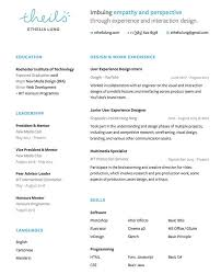 resume ux designer how to create the best ux designer resume