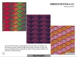 Define Communication Design Portfolio Students Work Communication Design By Mirla