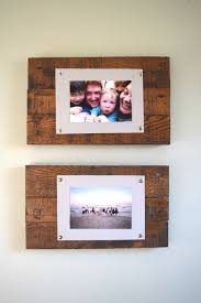 diy wooden picture frame ideas secondtofirst com