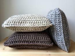 light gray chunky bohemian throw pillow