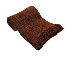 large luxury chocolate brown chenille sofa bed throw 152x203cm photobucket