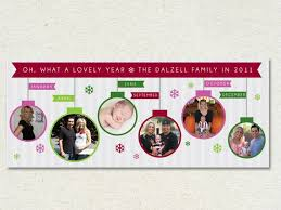 Photo Timeline Holiday Cards Love So Personal Holiday