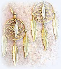 Dream Catcher Earings New Amazon LARGE DREAMCATCHER EARRINGS 32 Inch Long NATIVE