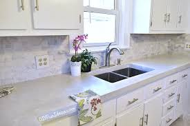 great white concrete countertops 68 on dining room inspiration with