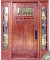 wood front doorsStained Glass Entrance Doors  YesterYears Vintage Doors