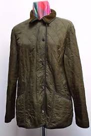 JT119 STUNNING LADIES BARBOUR GREEN POLARQUILT QUILTED JACKET FOR ... & Image is loading JT119-STUNNING-LADIES-BARBOUR-GREEN-POLARQUILT-QUILTED- JACKET- Adamdwight.com