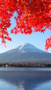 fall wallpaper iphone 5. Plain Iphone Fuji Mountain Autumn To Fall Wallpaper Iphone 5 V