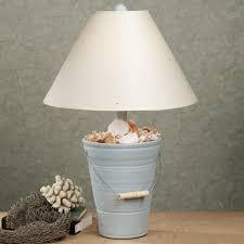 bucket beach themed lamps floor lamp best house design elect coastal inspired ocean shades green sea