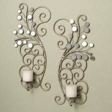 mir homemade candle sconces wall decor culturehoop throughout silver wall candle holders withsilver wall candle holders plan