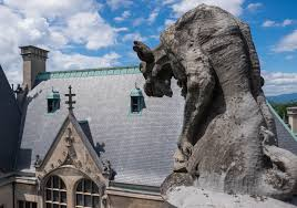 if you want to see even more of the mansion the rooftop tour is pretty cool i can t believe those gargoyles