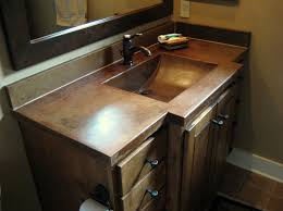 concrete countertop texas precast concrete vanity for restroom