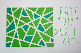 25 creative and easy diy canvas wall art ideas pertaining to decorating