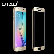 3d curved surface full cover screen protectors tempered glass for samsung galaxy s7 edge anti