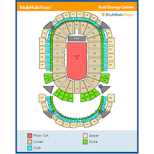 Xcel Energy Concert Seating Chart Xcel Energy Center Events And Concerts In Saint Paul Xcel