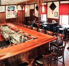 Commercial wood bar tops crafted by Grothouse