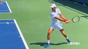 Novak Djokovic Practice with Ruud - Us ...