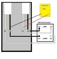 wiring diagram for 240 volt thermostat the wiring diagram 240v electric baseboard thermostat question electrical diy wiring diagram