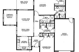 enchanting sample blueprint of a house floor plan pdf