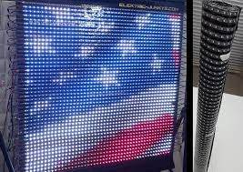 how to make flexible led panel screen diy t300k real time ws2801 led soft curtain you