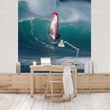 Apalis Vliestapete The Surfer Fototapete Quadrat Vlies Tapete