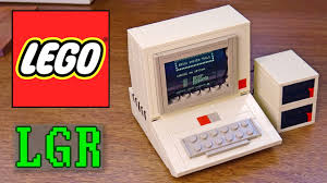 apple 2 computer. lgr - building a lego apple 2 computer! computer
