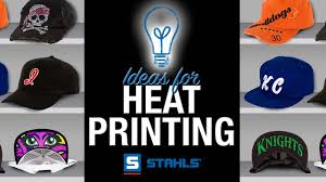 Decorating With Hats Decorating Hats With Heat Printing Youtube