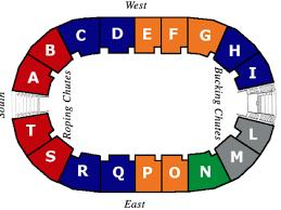 Louisiana Cajundome Seating Chart Mid Winter Fair Rodeo 2019 At Blackham Coliseum In Lafayette La