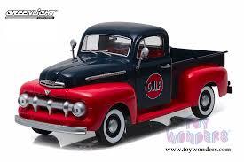 Greenlight - Ford F1 Pickup Truck Gulf Oil (1951, 1/18 scale diecast ...