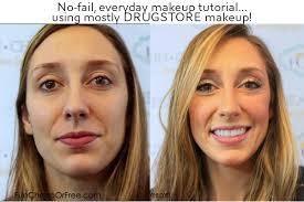 everyday makeup tutorial using mostly makeup