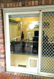diy sliding glass door dog insert for storm full size of d