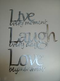 live laugh love metal wall art on metal wall art words love with live laugh love metal wall art polished steel pinterest metal