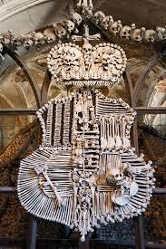 kutna hora sedlec czech republic july 13 sedlec ossuary human skulls and bones unesco on july 13 2016 in kutna hora town central bohemia region