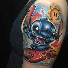 Stitch Tattoo By Josh Herman